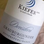 "Grauburgunder 2009 ""Dreistern"""