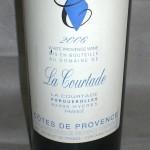 'La Courtade' Côtes de Provençe blanc