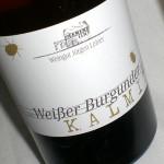 Weisser Burgunder 'Kalmit' 2009
