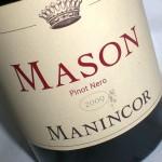 'Mason' 2009 Pinot Nero – Manincor