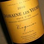 'Viognier' 2010 Les Yeuses