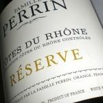 Perrin & Fils 'Réserve' Côtes du Rhône Blanc 2011