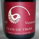 Clos de Trias 'Ventoux Rouge' 2007