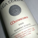 Monsicuro 2008 Barbera d´Asti