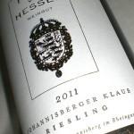 Johannisberger Klaus 2011 Erstes Gewächs