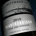 Blaufränkisch Kalk & Schiefer 2010