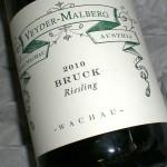 Riesling 'Bruck' 2010