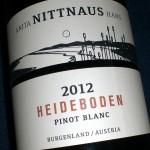 Pinot Blanc 'Heideboden' 2012