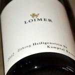 Riesling 'Zöbing Heiligenstein' 2012