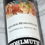 Gelber Muskateller Steinriegel Privat 2011