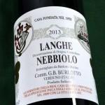 Burlotto Langhe Nebbiolo 2013