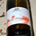 Weisser Burgunder Handwerk 2014