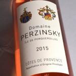 Côtes de Provence Rosé 2015