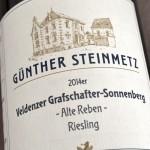Veldenzer Grafschafter-Sonnenberg 2014 Alte Reben