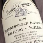 Brauneberger Juffer** 2006 Auslese