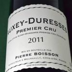 Auxey-Duresses Premier Cru 2011