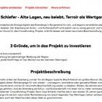 Uwe Schiefer – Crowdfunding für das Projekt Eisenberg