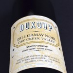 Dry Creek Valley 2014, Gamay Noir