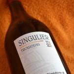 """Trousseau """"Singulier"""" Arbois 2014"""