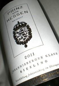 Johannisberger Klaus Erstes Gewächs