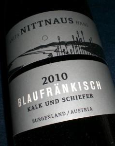 Blaufränkisch 2010