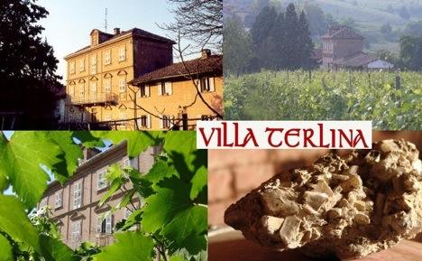 Villa Terlina im Piemont, Italien