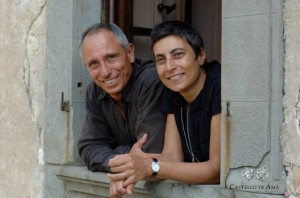 Lorenza Sebasti und ihr Mann Marco Pallanti