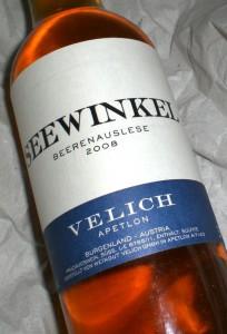 Seewinkel Beerenauslese
