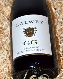 Salwey Henkenberg Spaetburgunder 2011 GG