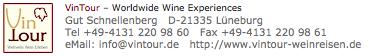 Vintour Weinreisen