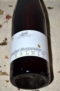 Weisser Burgunder Kalmit 2010