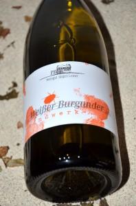 Weisser Burgunder Handwerk