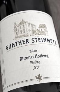 Drohner Hofberg Riesling GD 2014