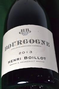 Boillot Bourgogne 2013