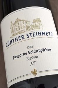 Piesporter Goldtroepfchen 2014 Riesling GP