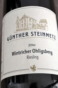 Wintricher Ohligsberg 2014 Riesling