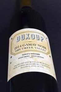 Duxoup Gamay Noir 2014