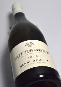 Bourgogne 2016 Boillot